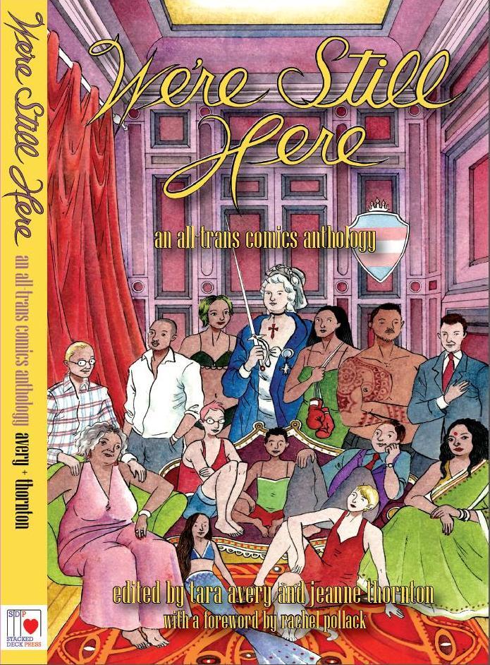 Resultado de imagen para We're Still Here: An All-Trans Comics Anthology